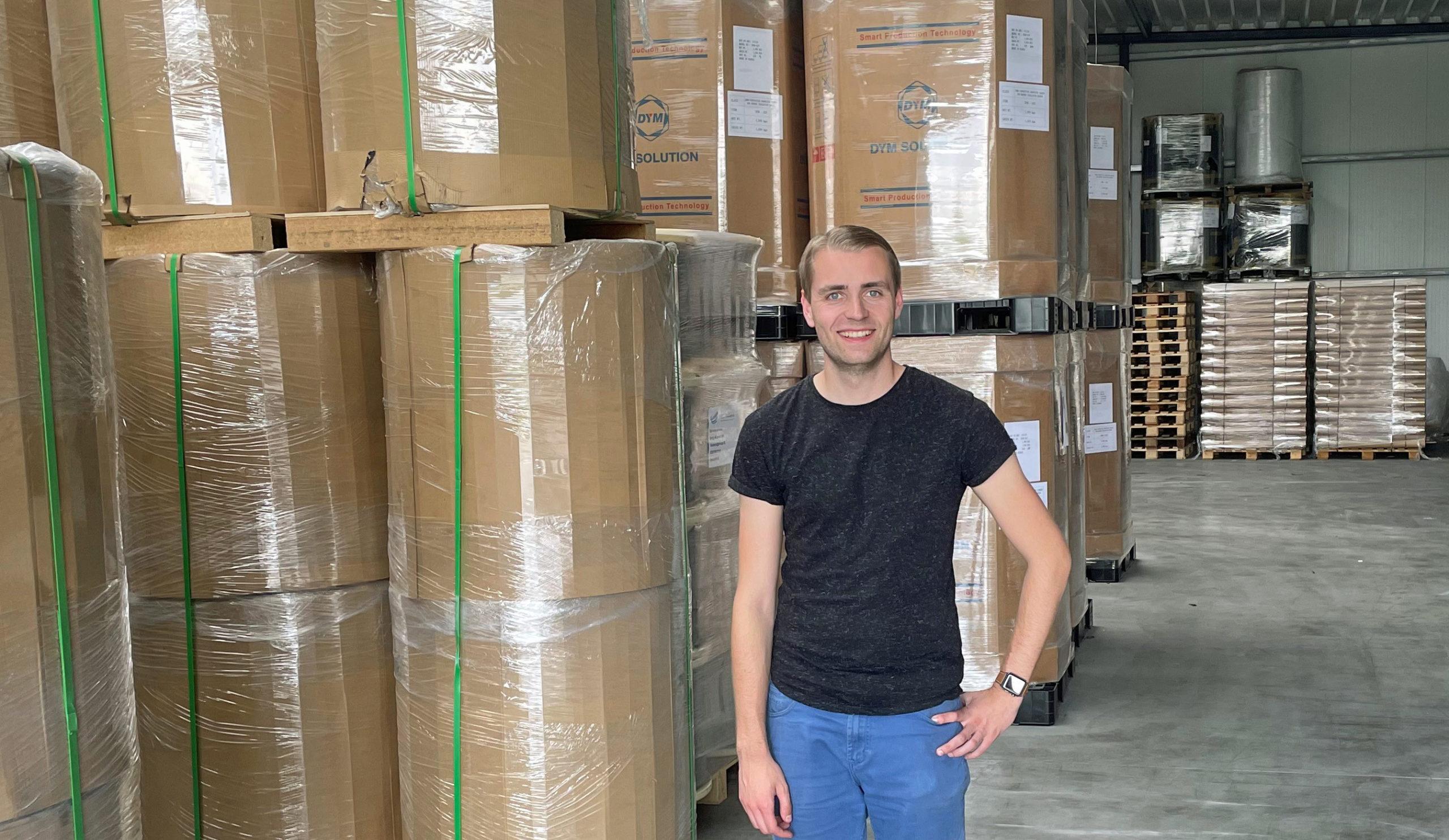 Stephan de Blauw-HEC-Holland new account manager